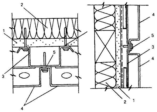 Схема крепления кассет ТАЛДОМ 1000