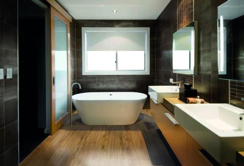 Влагостойкий виниловый ламинат для ванной комнаты Floover Splash