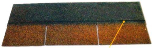 Кровельные пластины с непрерывной клейкой полосой