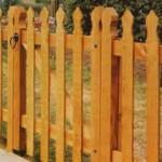 Ремонт деревянных заборов и калиток