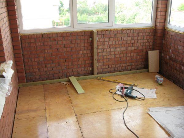 Строительство веранды. Стеновые материалы