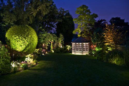Декоративное освещение и подсветка на загородном участке