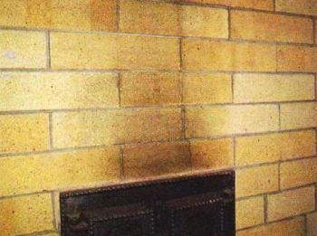 Из-за резких нагревов кладки треснули не только швы