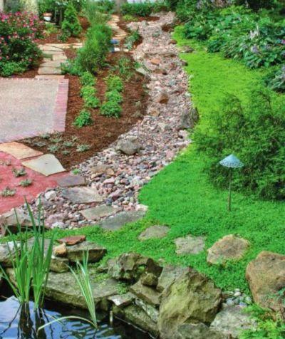 Особенности мощения садовых дорожек