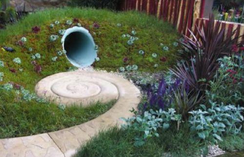 Авангардные решения для сада