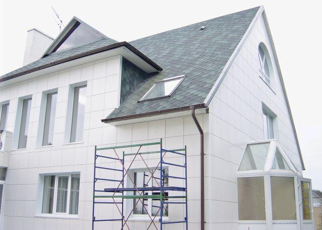 Система вентилируемых навесных фасадов