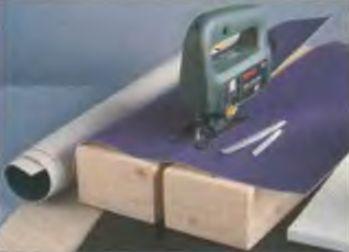 Мягкие материалы режут специальными ножами