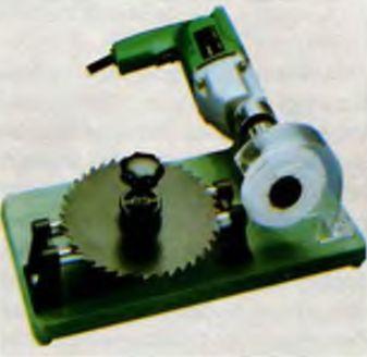 Приставка для заточки дисковых полотен