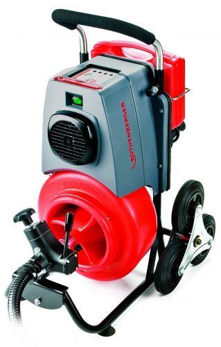 Пружинный очиститель с мощным электроприводом и набором различных наконечников