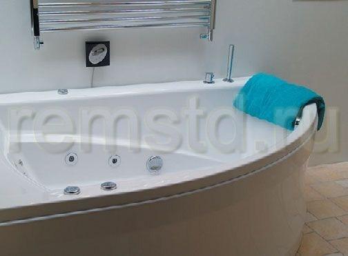 Современная гидромассажная ванна