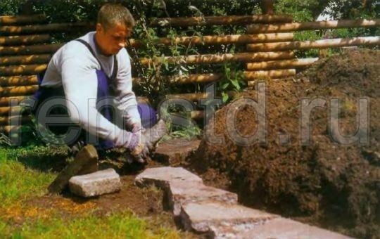 Как сделать каменную горку, цветник или клумбу на дачном участке