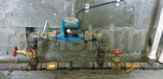 Байпас, установленный в системе отопления