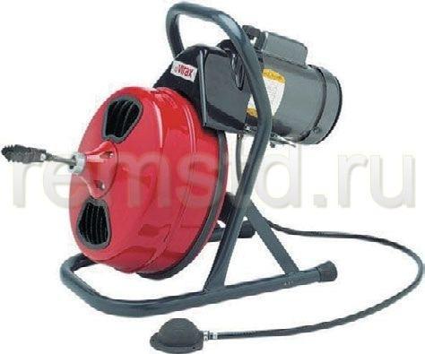 Специальный аппарат для прочистки канализационных засоров