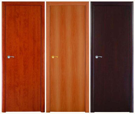 Гладкие межкомнатные двери