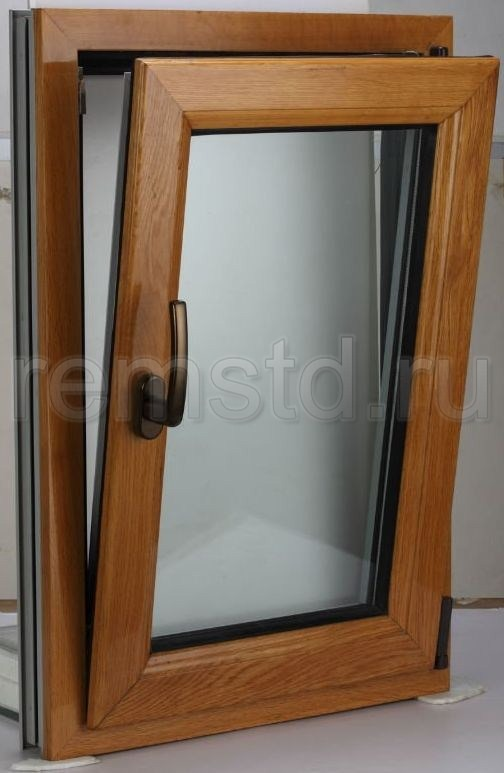 Комбинированные окна - деревоалюминиевые окна