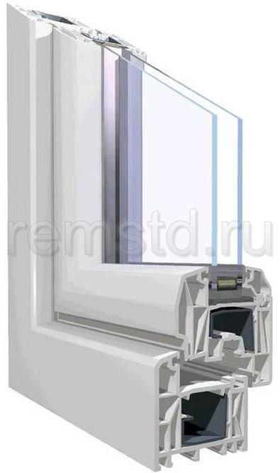Профиль пластикового окна