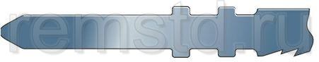 Хвостовики пильных полотен для электролобзика