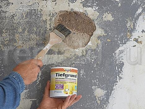 Подготовка и ремонт стен для отделки