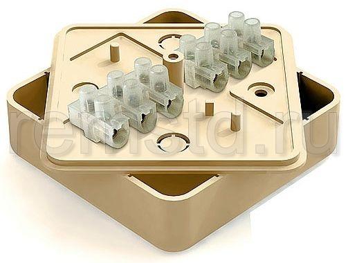 Распаечная коробка для открытой проводки. Распаечные и клеммные коробки для монтажа на поверхности стен. Они оснащены герметичными крышками и фитингами для уплотнения проводов