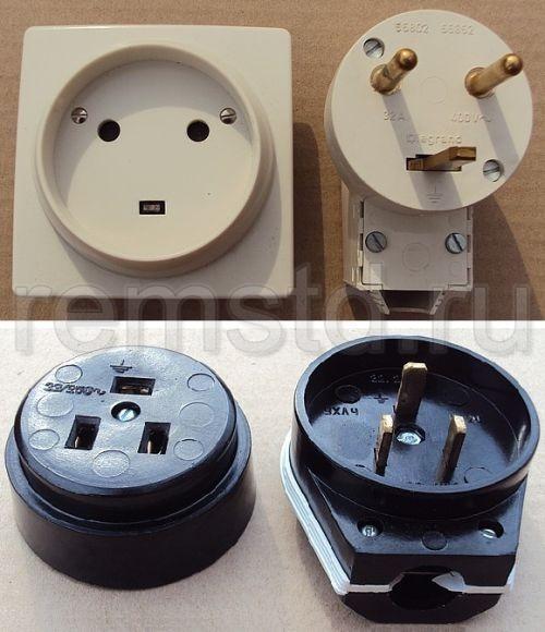 Розетки для кухонных электроплит