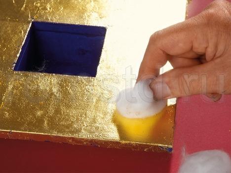 Декоративное золочение - сусальное золочение