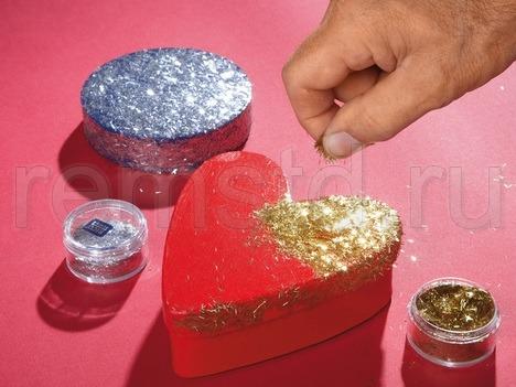 Золотые и серебряные блестки