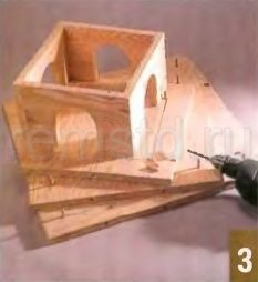 Оригинальная кормушка для птиц своими руками