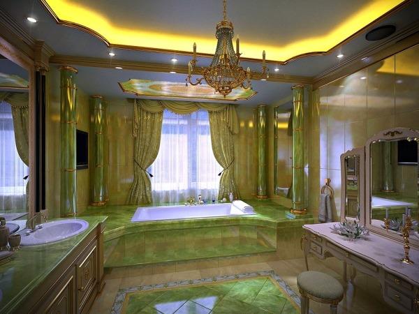Дизайн и интерьер ванной комнаты