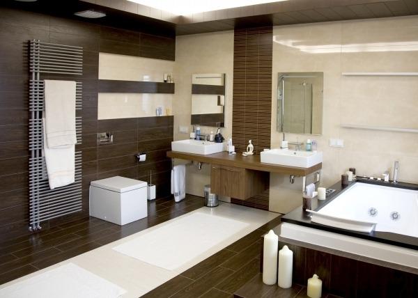 Дизайн и интерьер ванной комнаты - экспериментируем со стилем
