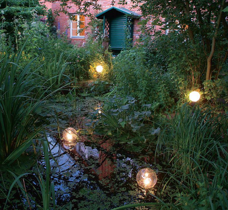 Подсветка водоемов