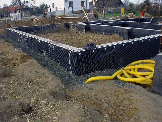 Дренажная система для загородного дома