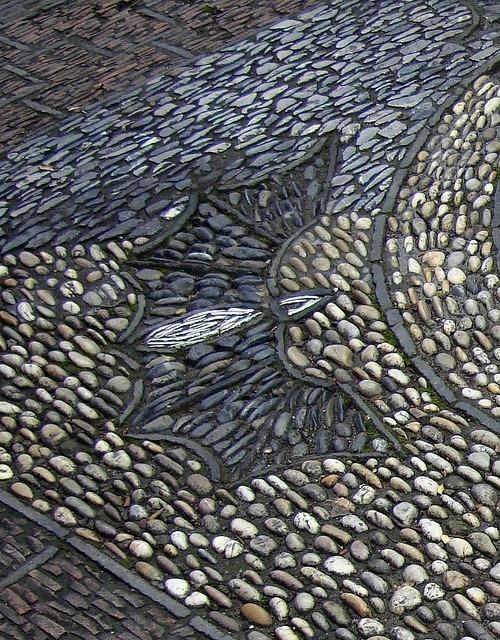 Мощение натуральным камнем