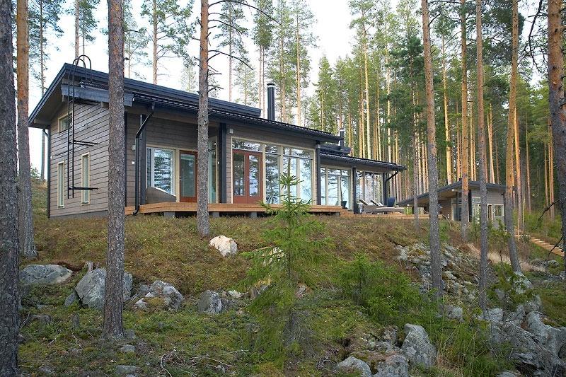 Дом из утепленного бруса Ekorex Rantasalmi