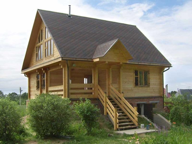 Дом из утепленного клееного бруса