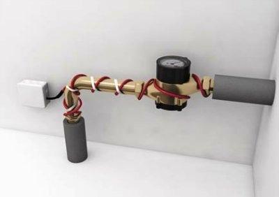 Использование обогревательных кабелей
