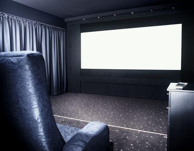 Шторы для домашнего кинотеатра