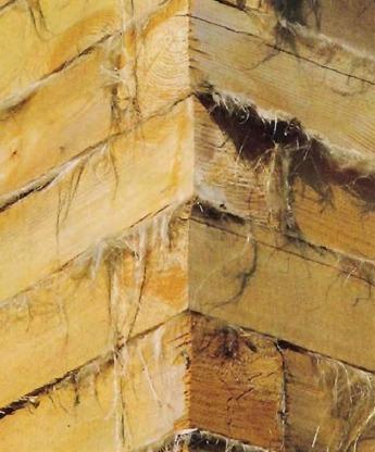 Межвенцовые утеплители (уплотнители) для деревянных домов