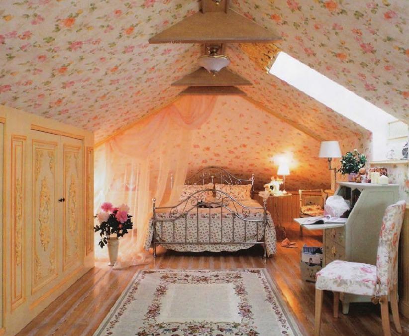Интерьер комнаты во французском стиле