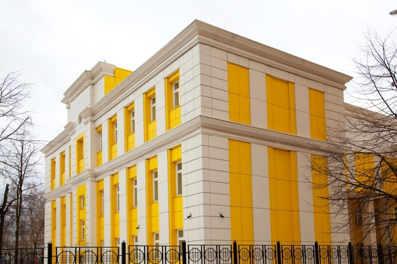 Устройство навесного вентилируемого фасада