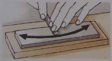 Заточка круглых стамесок