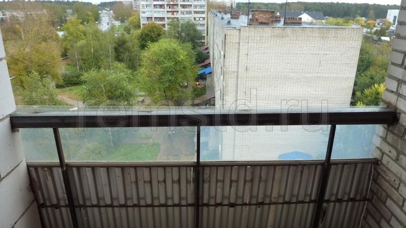Подготовка к утеплению балкона