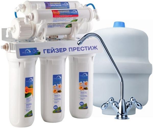 Фильтр тонкой очистки для питьевой воды с обратным осмосом