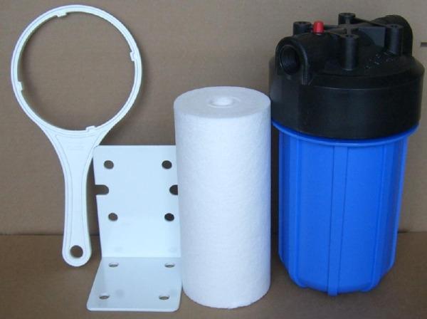 Механический магистральный фильтр грубой очистки воды