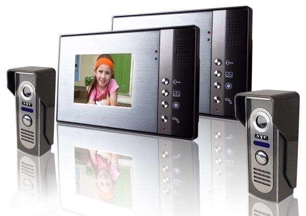 Цветной видеодомофон