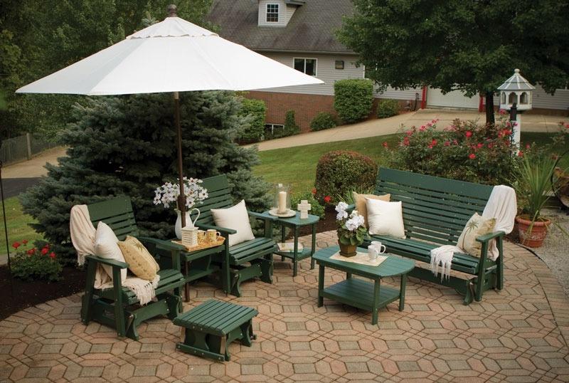 Садовая мебель из пластика