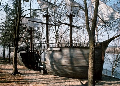 Детская площадка - корабль
