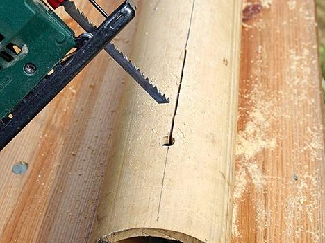 Как правильно пилить бамбук