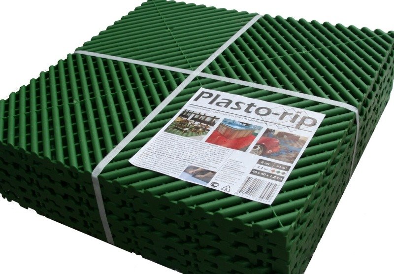 Модульное пластиковое покрытие Plasto-rip