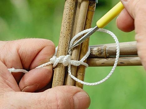Связывание бамбука