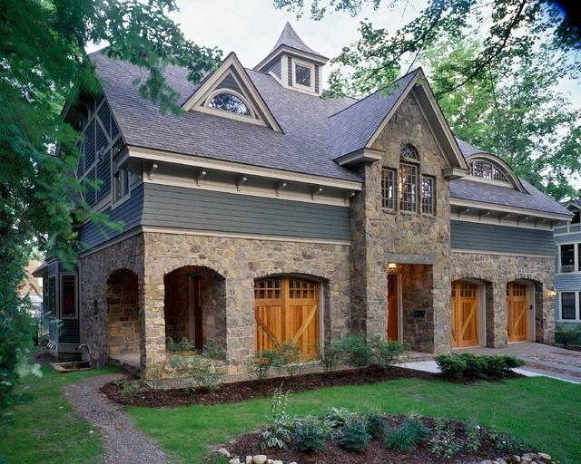 Комбинированный дом фахверк
